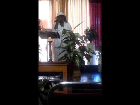 Prophetess Mara Brooks Powe @ True Vine Holiness Church (Part 1) Travel Video