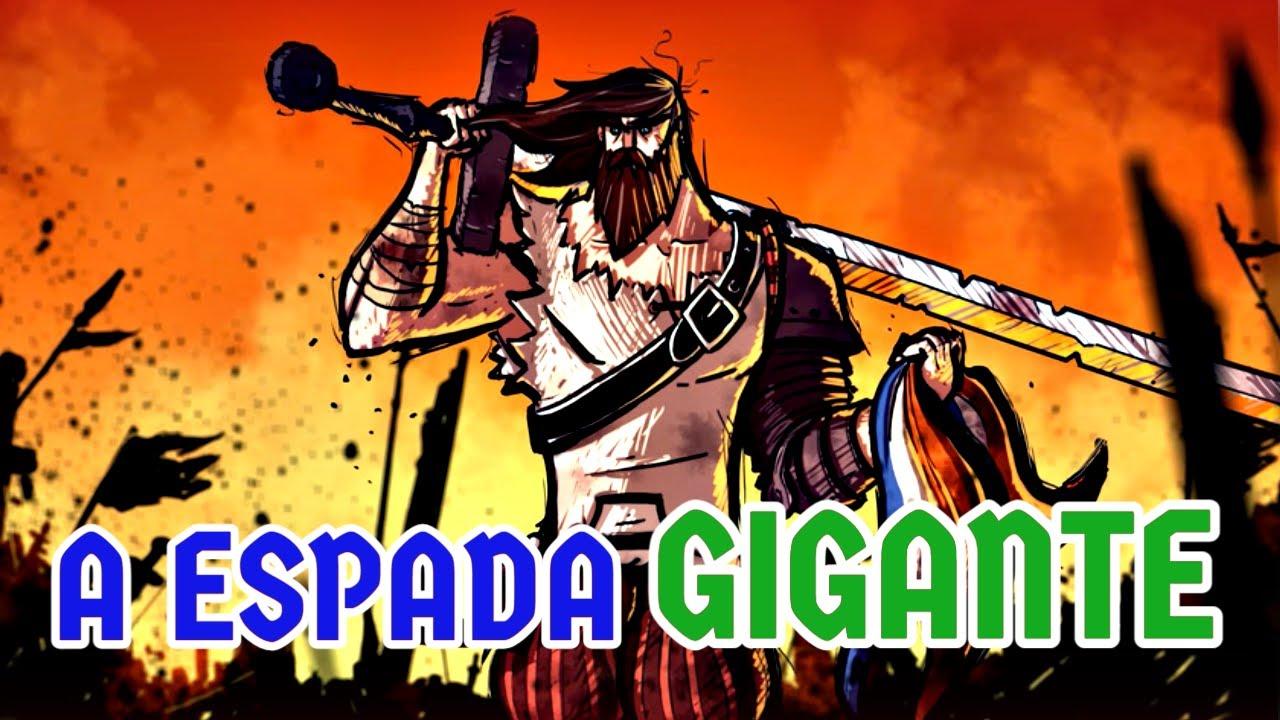 Essa espada gigantesca era usada pelos germânicos para destruir os seus oponentes!