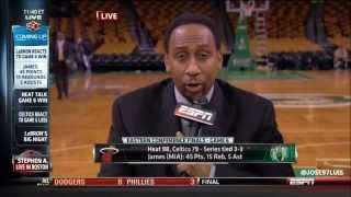 Stephen A. On Heat's Game 6 Win - SportsCenter (06-07-2012)