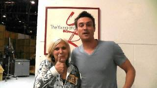 A Y&R Tour with Daniel Goddard! - The Price Is Right