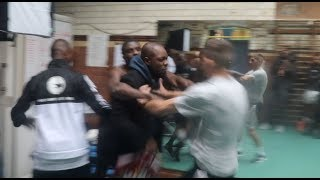 OHARA DAVIES & DARREN SURTEES NEARLY COME TO BLOWS AFTER OD REFUSES TO WEIGH IN FRONT OF FIGHTERS