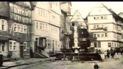 Fritzlar  eine Zeitreise : Damals und heute Marktplatz und Kasselerstraße