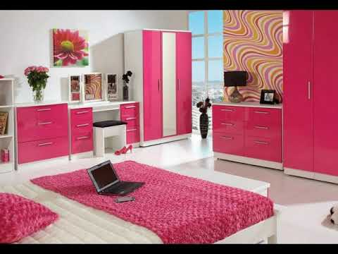 Pink and Blue bedroom Ideas | room decorating ideas for small rooms