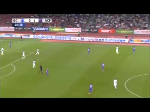 Grasshopper - Fiorentina 1-2 - Sky Sport HD - Europa League