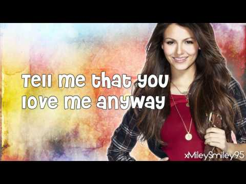Victoria Justice ft. Leon Thomas III - Tell Me That You Love Me (with lyrics)