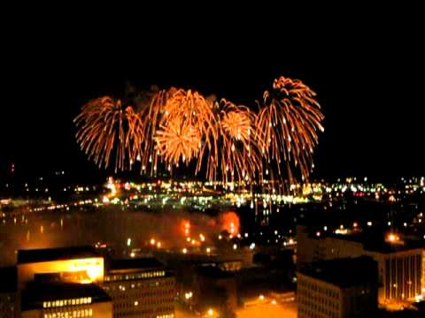 4th of July Fireworks Peoria Illinois 2012