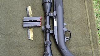 Teste tiro rifle carabina 22 CBC.