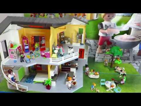 Neu new nouveau nuevo 2017 playmobil modernes wohnhaus for Playmobil modernes haus 9266