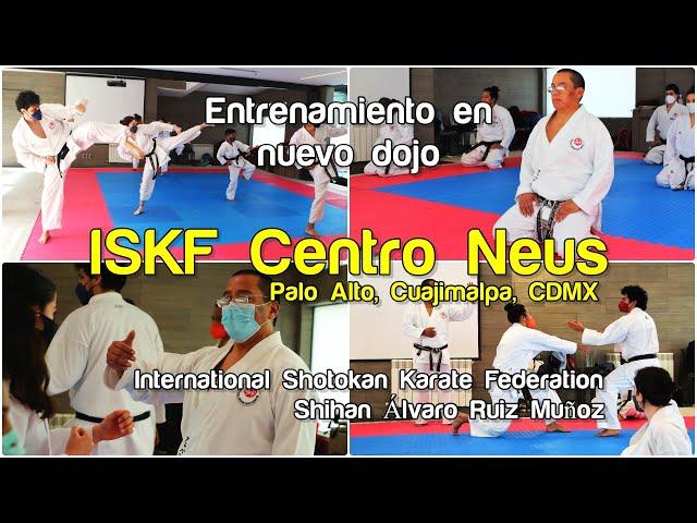 Entrenamiento en nuevo Dojo de Karate ISKF - Centro Neus