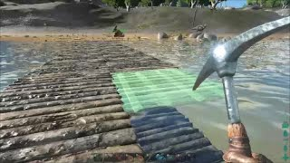 (Building the Bridge and plans for taming!) Ark: Survival Evolved Part 18
