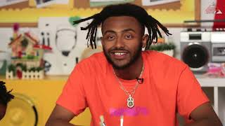 Kids Ask Aminé How It Felt To Roast Donald Trump Arts N Raps Season 3 Ep 17