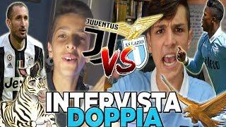 ⚽JUVE VS LAZIO! INTERVISTA DOPPIA sulla SUPERCOPPA! w/Sespo