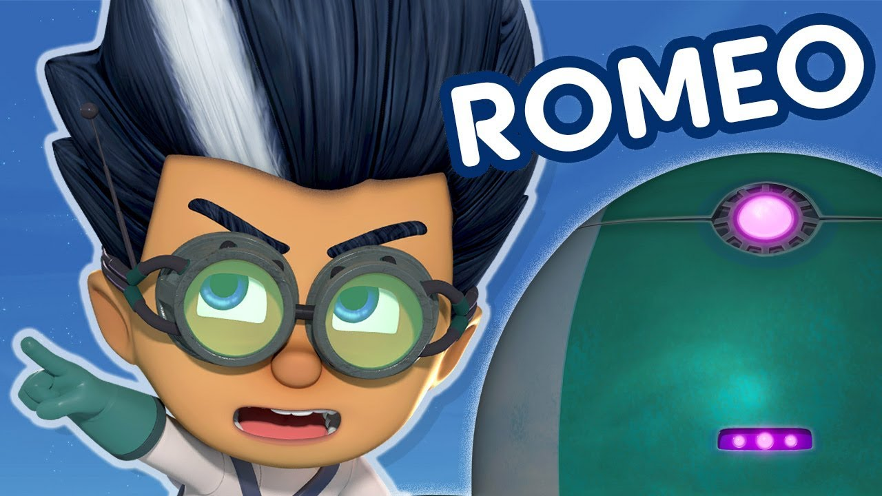 PJ Masks Episodes | PJ Masks Romeo Special | Cartoons for Children