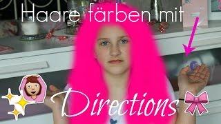 Färben mit Directions - meine 10 Jährige Schwester wird ....♥ thumbnail