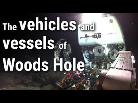 Watch our research vessels and vehicles in action!