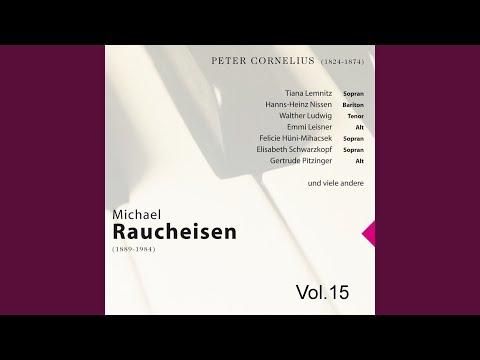 Das Deutsche Lied: Am Rhein, Aus Drei Rheinische Lieder, Nr. 1