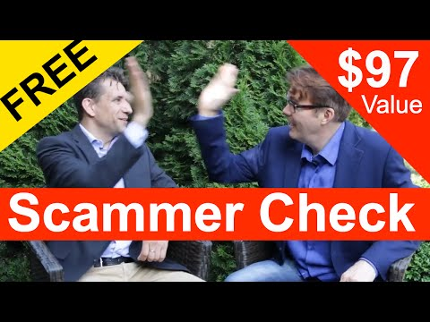 Get Your FREE Scammer Check By Online SCAM Expert ($97 Reg Price)!