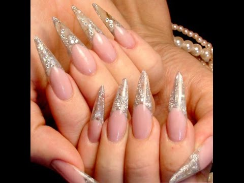 Этапы наращивания ногтей гелем на типсах