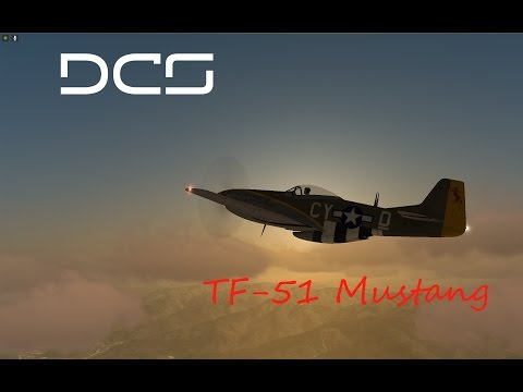 DCS - TF-51 MUSTANG - Flying Tips