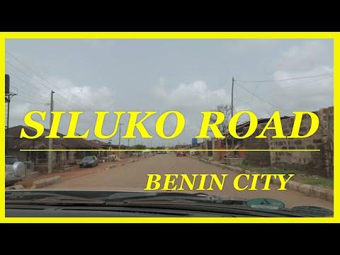 A DRIVE THROUGH SILUKO ROAD VIA TRAVIS CHRISTIAN COLLEGE, BENIN CITY ( EDO STATE ) NIGERIA.