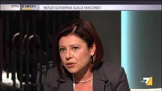 Otto e mezzo - Renzi governa sulle macerie? (Puntata 11/10/2014)
