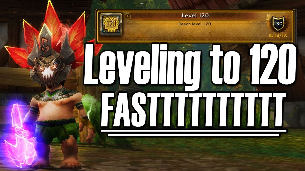 8 1 5 Fastest Way To Level To 120 Tips To Max Experience Bfa Youtube