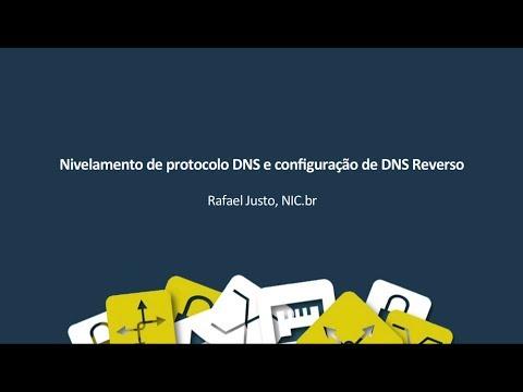 Nivelamento de protocolo DNS e configuração de DNS reverso