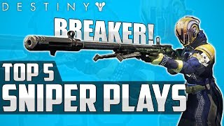 AMAZING ICE BREAKER CLIP! - Destiny Top 5 Sniping Plays Of The Week / Episode 465 - Age Of Triumph