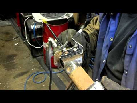 Trailer repair part 3: Welding on the perches