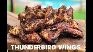 Thunderbird Wings - Perfectly grilled, crispy, spicy Chicken Wings