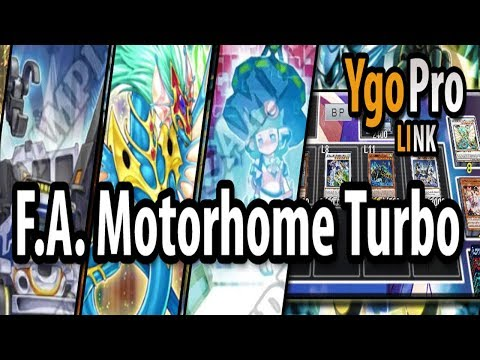 F.A. Motorhome TURBO (YgoPro) - DOUBLE A.F.D. into Crystal Wing (& more).. Must be nice =3