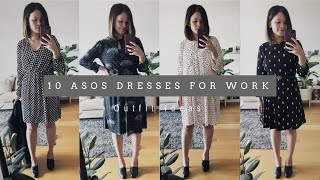 10 AFFORDABLE WORK DRESSES FROM ASOS | Outfit Ideas | The Issa Edit