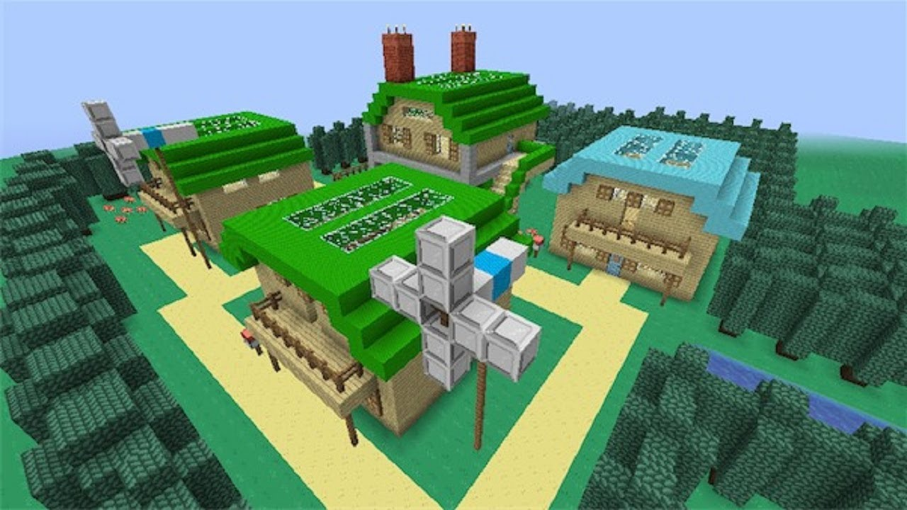 minecraft pokemon city map download