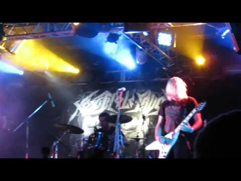 Toxic Holocaust - Gravelord / Acid Fuzz / I Am Disease / War Is Hell (Live 10.06.2014)