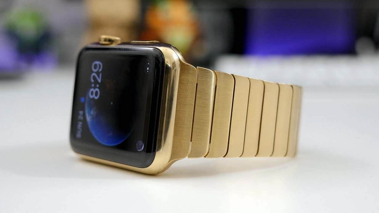 Apple Watch 24K guld