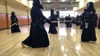 三無の会 第50回稽古会(千代田区立スポーツセンター開催)