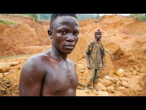 Gold Mining and People's Dreams After Civil Wars in Liberia - Journey to Dreams Documentary