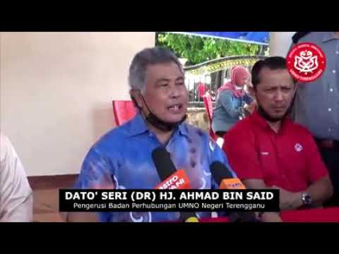 'Cukup sampai di sini sayang' - UMNO Terengganu umum tanding semua kerusi Parlimen, DUN