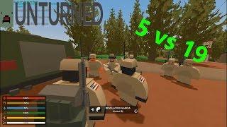 Video 5 VS 19 | Simulación Militar RP | Unturned RolePlay (Español) #3 download MP3, 3GP, MP4, WEBM, AVI, FLV Februari 2018