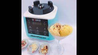 Cách làm kem tươi cực ngon, cực dễ tại nhà với Ukoeo- Bếp Mẹ Tôm