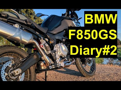 BMW F850GS Diary - #2 Old Bluetooth Headset And BMW Connected TFT