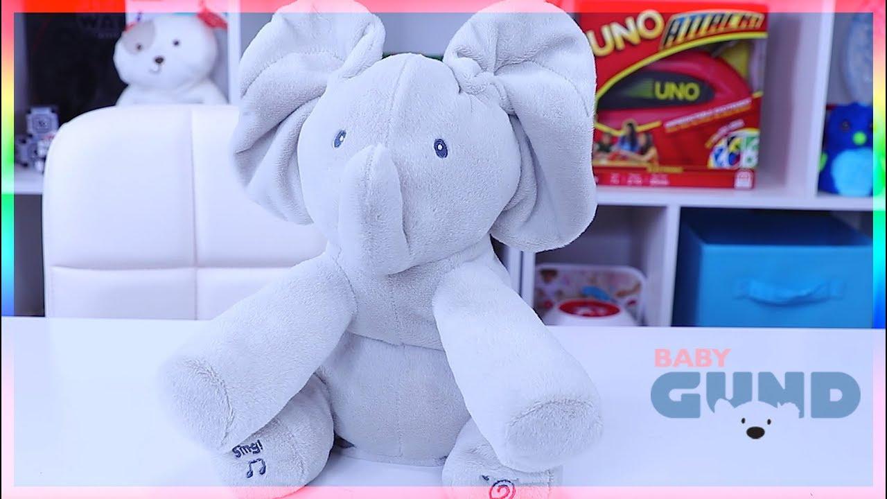Gund Baby Animated Flappy The Elephant Plush Toy Youtube