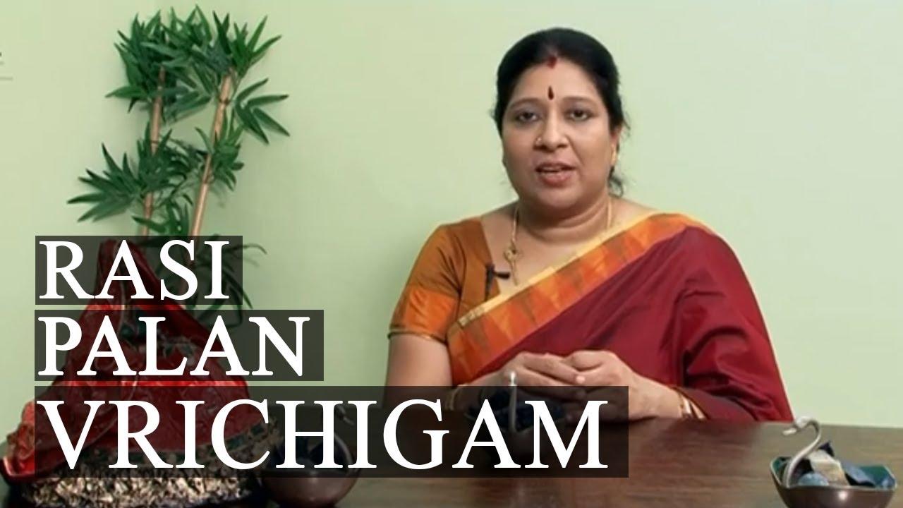 Rasi palan vrichigam bharathi sridhar october 06 2013 to october 12 2013