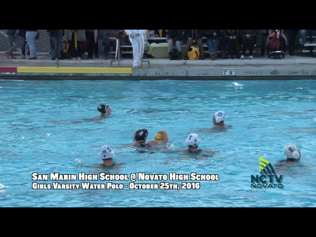 Game of the Week | SMHS @ NHS | Girls Varsity Water Polo ( 10-25-2016 )