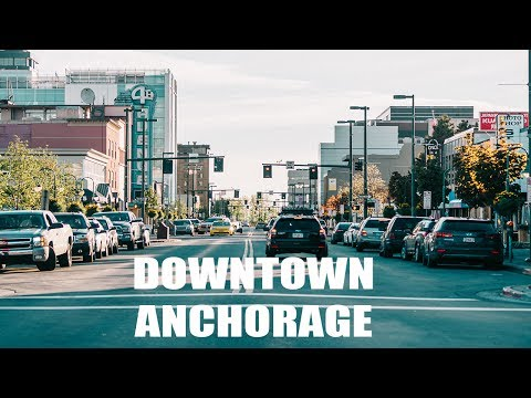 EXPLORING DOWNTOWN ANCHORAGE, ALASKA