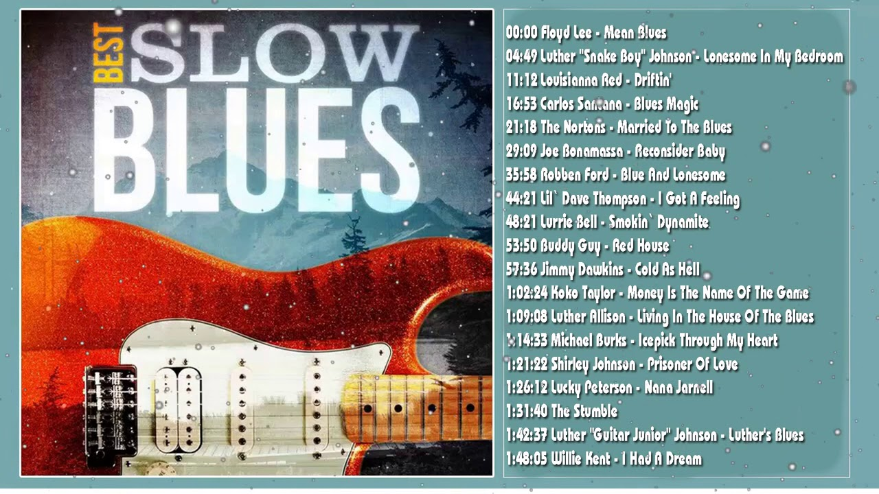 Download SLOW  BLUES MUSIC COMPILATION 2021  Reupload