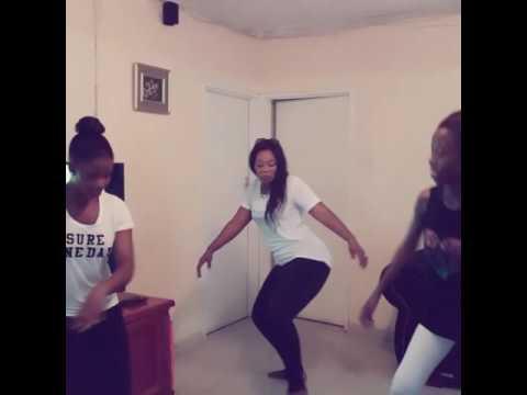 Merinda caught dancing