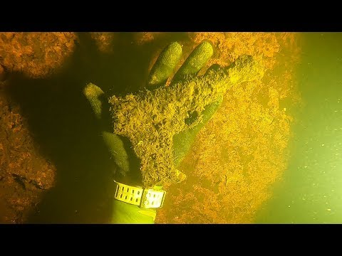 Found Semi-Automatic Pistol Underwater While Scuba Diving! (Police Called)