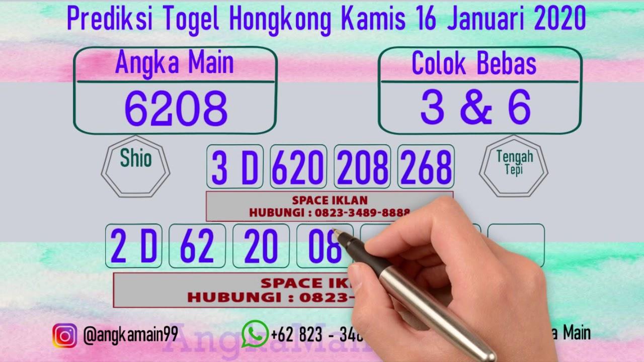 Prediksi Togel Hk Kamis  Youtube