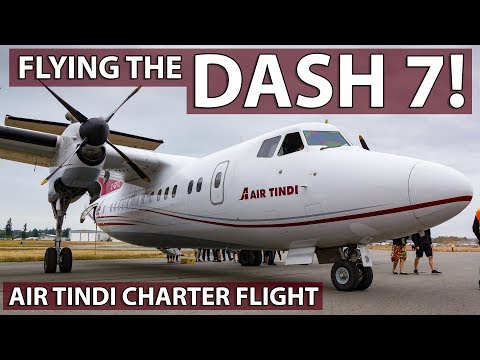 FLYING THE DASH 7 IN 2019! Air Tindi Enthusiast Charter Vancouver To Abbotsford